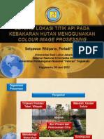 Deteksi Lokasi Titik API SEMNASIF 2012
