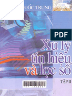 Xử Lý Tín Hiệu và Lọc Số Tập 2 - Pgs.Ts.Nguyễn Quốc Trung - 480 Trang