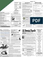 Dec 2 Bulletin