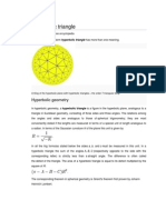 Hyperbolic Triangle