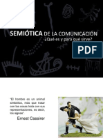 DEFINICIÓN DE SEMIÓTICA