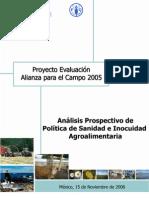 Prospectivo Agroalimentaria