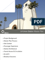 Los Angeles Union Station Master Plan -  Dec. 4, 2012