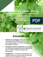 Valtenbergs Social Media