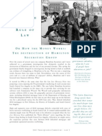 The Myth of the Rule of Law