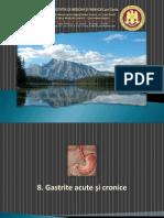 8. Gastrite Acute Si Cronice