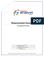 Requirements Template