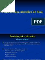 Boala Cronica Alcoolica de Ficat. Hepatite Toxice 2011