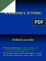 Sindromul Icteric 2011
