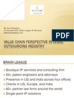 Value Chain perspective in Legal outsourcing industry, By Arun