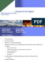 Health Tourism Presentation IBM