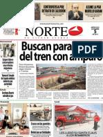 Periodico Norte de Ciudad Juárez 5 de Diciembre de 2012