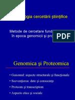 Curs 4 CB Metodologia Cercetarii 2010
