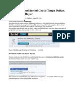 Cara Download Scribd Gratis Tanpa Daftar