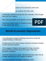 World Economic Depression and WWII Ppt