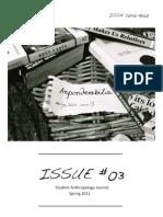 Imponderabili a Journal 2011