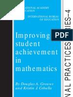 Improving Student Achievement in Mathematics