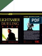 WEG40010 - Star Wars D6 - Lightsaber Dueling Pack - Luke Skywalker