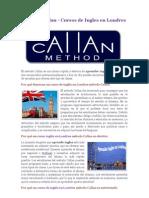 Metodo Callan - Cursos de Ingles en Londres