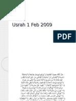 Pengisian Usrah - Transkrip Tarbiah