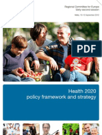 OMS Europa_Estrategia Health 2020