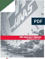 Haas VMC Manual