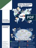 Talk2M - Cloud-basierte VPN-Konnektivität für Ihre Maschinen