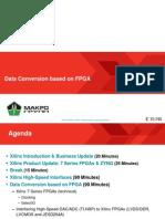 Data Conversion Based on FPGA Thomas Klein