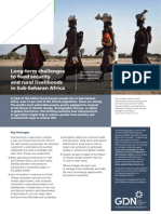 Long-term challenges to food security