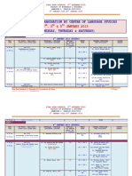 FINAL EXAM SCHEDULE  (5TH DECEMBER 2012) -DS308