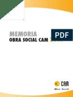 Memoria completa de actividades 2011. Obra Social. Caja Mediterráneo