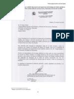 carta a Solves de los inspectores del banco de españa sobre la situacion financiera 2005