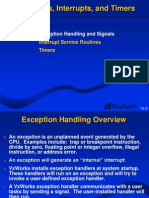 10. Exceptions Interrupts Timers