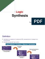 Logic Synthesis 1 PavanKV