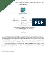 Analisis Pengaruh Biaya Promosi Terhadap Tingkat Penjualan (Rika Pratiwi - Dita Rohmah)