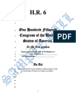 My Congressional Document Bill Number 6 New Congress Bill Mark 2