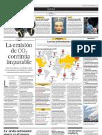 La emisión de CO2 continùa imparable