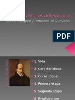 Autores Del Barroco