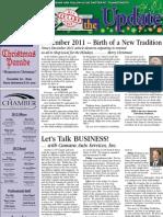 Tulare Chamber of Commerce newsletter December 2012