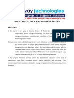 Industrial Power Management System