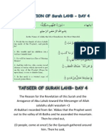 Tafsir of Surah Lahab