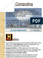 My Ppt Cloud Computing
