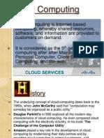 My Ppt Cloud Computing