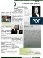 Dubai Irish Society Newsletter Jan 2009