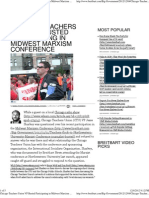 Chicago Teachers Union VP Busted Participating in Midwest Marxi