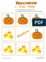 Halloween Tic Tac Toe 1