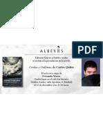 """Presentación del libro """"Cerdos y Gallinas"""" de"""