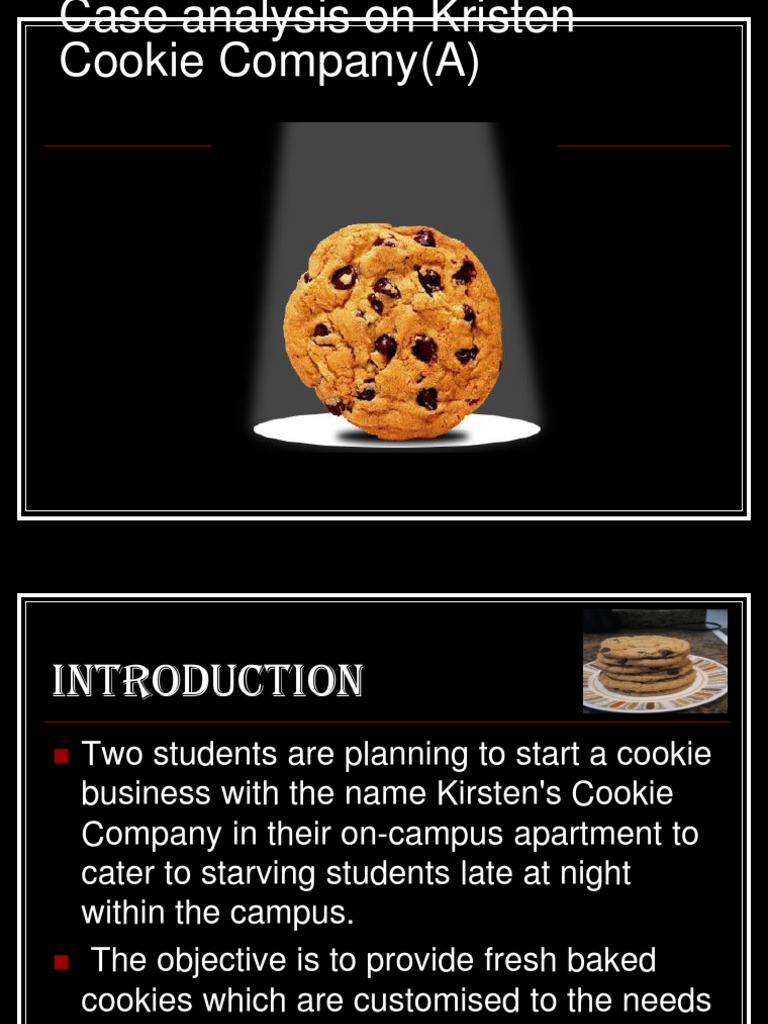 research paper on cookies