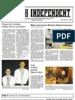 Faith Independent, December 5, 2012
