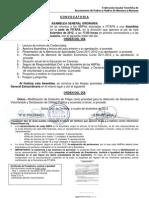 (CONVOCATORIA Y ORDEN DEL DÍA ASAMBLEAS ORDINARIA Y EXTRAORDINARIA 13 12 2012)